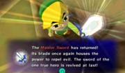 Master Sword fully restored