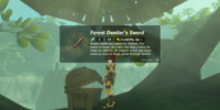 Forest Dweller's Sword