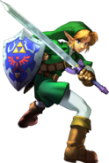 Link Defending (Soulcalibur II)