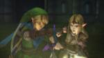 Hyrule Warriors Liberation of the Triforce Link & Zelda return the Master to its Sacred Pedestal (Cutscene)