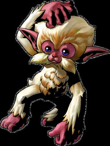 File:Monkey Artwork (Majora's Mask).png