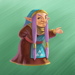 Impa Artwork (A Link Between Worlds)
