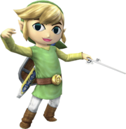 Toon Link (Super Smash Bros Brawl)