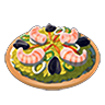 Breath of the Wild Food Dish (Seafood) Seafood Paella (Icon).png