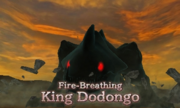 Hyrule Warriors Legends King Dodongo (Era of the Hero of Time) Dark King Dodongo (Battle Intro)