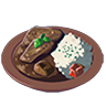 Breath of the Wild Food Dish (Curry) Prime Meat Curry (Icon).png