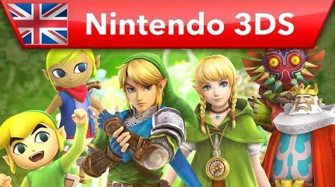 Hyrule Warriors Legends - Characters Trailer (Nintendo 3DS)