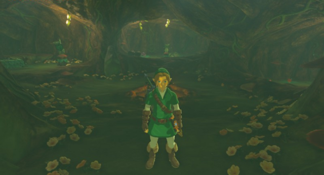 File:Breath of the Wild Korok Forest (Deku Tree's Stomach) Inside the Great Deku Tree (Great Hyrule Forest).png