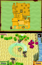 Gameplay (Phantom Hourglass)