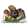 Breath of the Wild Food Dish (Salt-Grilled) Salt-Grilled Mushrooms (Icon).png