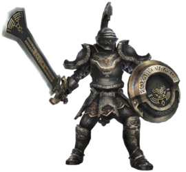 Hyrule Warriors Enforcers Darknut (Render)