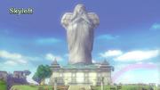 Hyrule Warriors Locations Skyloft (Intro Cutscene)