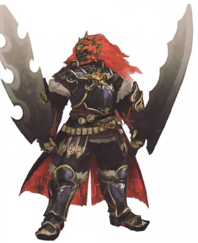 File:Hyrule Warriors Artwork Ganondorf (Concept Art).png