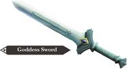 Hyrule Warriors Goddess Blade Goddess Sword (Render)