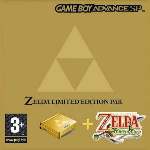 File:The Legend of Zelda - The Minish Cap & GBA SP Bundle (PAL).png