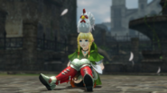 Hyrule Warriors Boots Pegasus Boots - Linkle & Cucco (Victory Cutscene)