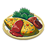File:Breath of the Wild Food Dish (Omelets) Vegetable Omelet (Icon).png