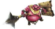 Hyrule Warriors Enforcers Moblin (Render)