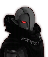 Hyrule Warriors Ghirahim Dark Ghirahim (Dialog Box Portrait)