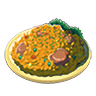 Breath of the Wild Food Dish (Pilaf) Poultry Pilaf (Icon).png