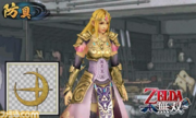 Samurai Warriors Chronicles 3 Zelda's Standard Robes (Save Data Bonus)