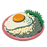 Breath of the Wild Food Dish (Egg) Fried Eggs and Rice (Icon).png