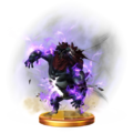 Super Smash Bros. for Wii U Final Smash Trophy Beast Ganon (Trophy).png