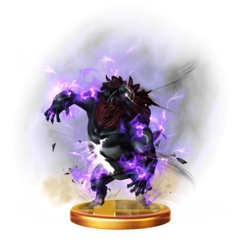 File:Super Smash Bros. for Wii U Final Smash Trophy Beast Ganon (Trophy).png