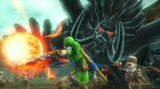 Hyrule Warriors Dark Ganon Fireball (Boss Attack)