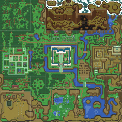 File:A Link to the Past Overworld Map (Light World).png
