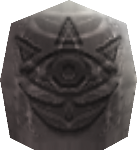 File:Gossip Stone (Ocarina of Time and Majora's Mask).png