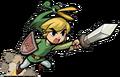 Link Stabbing (The Minish Cap)