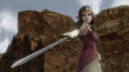 Hyrule Warriors Rapier Polished Rapier (Victory Cutscene)