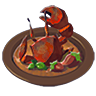 Breath of the Wild Food Dish (Crab) Crab Stir-Fry (Icon).png