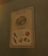 Breath of the Wild Recipe (Poster) Hasty Apple Pie (Lakeside Stable)