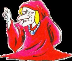 Arte da Anciã de The Legend of Zelda