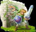 Link Artwork (A Link Between Worlds)