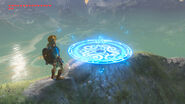 Travel Medallion placed (Breath of the Wild)
