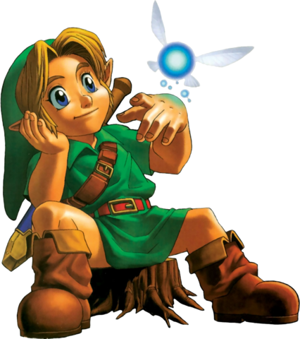 File:Young Link Artwork 1 (Ocarina of Time).png
