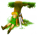 Link Resting (A Link to the Past)