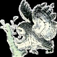 Owl Artwork 3 (Link's Awakening)