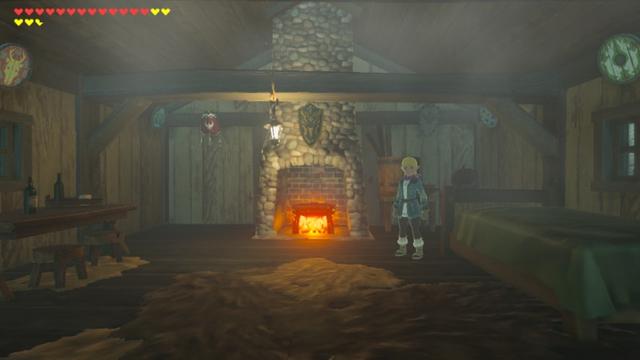 File:Breath of the Wild Selmie's Spot Selmie's Cabin (Interior).png