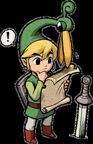 File:Link Artwork 8 (The Minish Cap).png