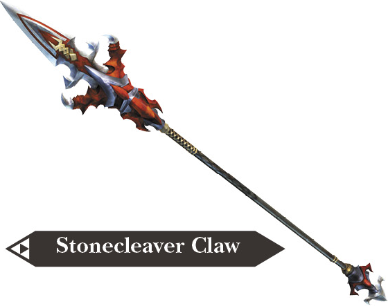File:Hyrule Warriors Dragon Spear Stonecleaver Claw (Render).png