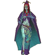 Hyrule Warriors Legends Twili Midna Standard Outfit (Grand Travels - Astrid Recolor)