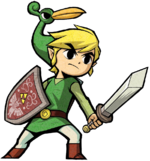 Link Artwork 2 (The Minish Cap)