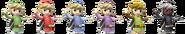 Toon Link Palette Swaps