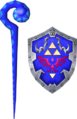 Cane of Byrna and Hylian Shield (Soul Calibur II).png