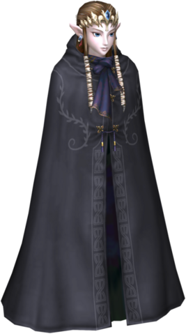File:Twilight Princess Hooded Zelda Princess Zelda (Render).png