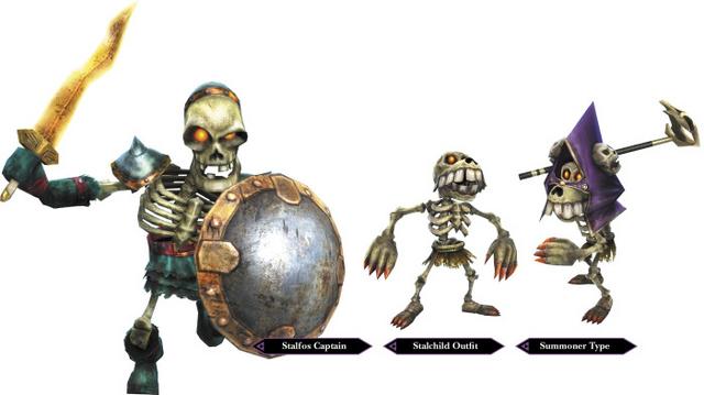 File:Hyrule Warriors Enemy Units Stalfos & Stalchildren (Render).png